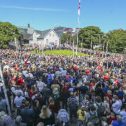 Ólavsøka is the biggest summer festival in the Faroe Islands, (Image credits: Jens Kr. Vang