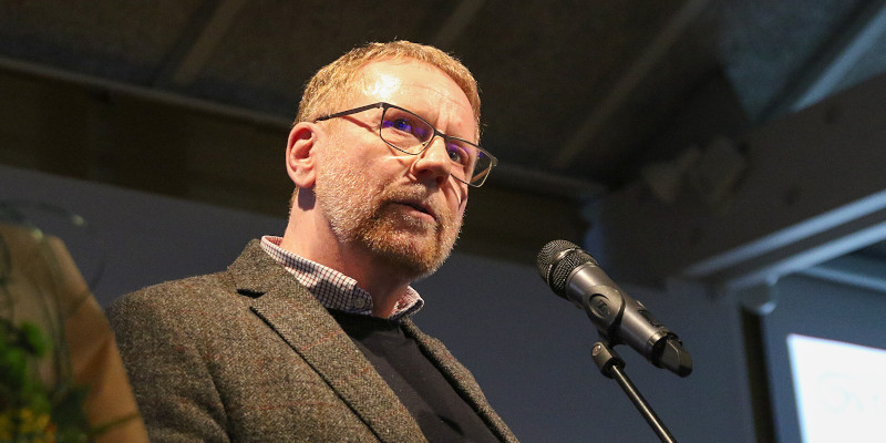 Árni Jakobsen was named private Leader of the Year (Image credits: Sverri Egholm)
