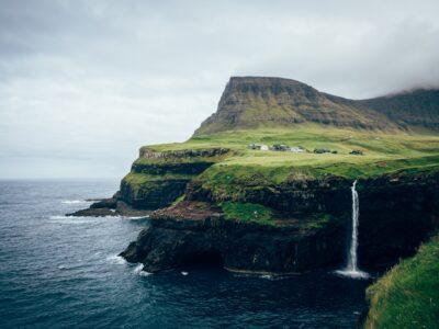 Múlafossur Waterfall