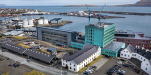National Hospital of the Faroe Islands (Image credits: Ólavur Frederiksen/FaroePhoto)