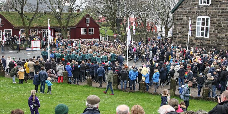 Faroese Flag Day (Image credits: Sverri Egholm)
