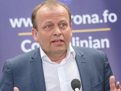 Kaj Leo Holm Johannesen, Minister of Health (Image credits: Sverri Egholm)