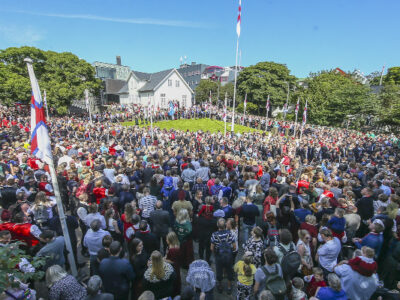 Ólavsøka is the national holiday of the Faroe Islands (Image credits: Jens Kr. Vang)