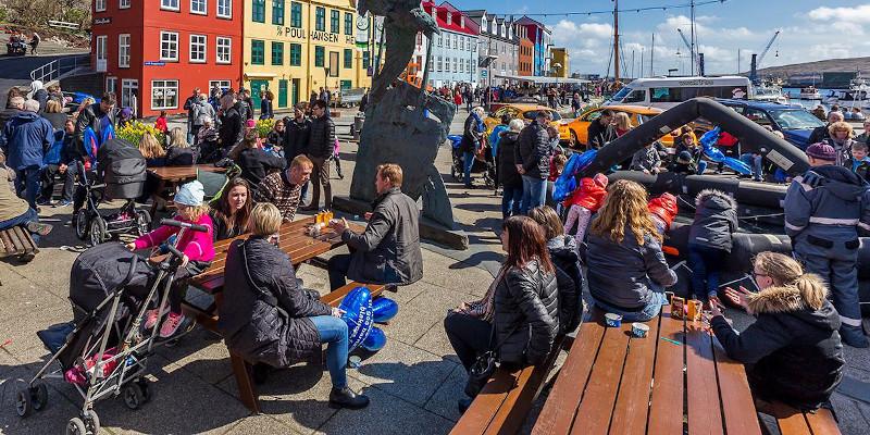 Vágsbotnur in Tórshavn