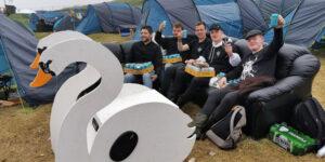 G! Festival Camp Site (Image credits: Hans Gilstein Petersen)