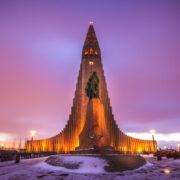 Hallgrímskirkja in Reykjavík, Iceland (Image credits: anieto2k)
