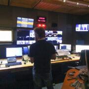 Control room of Kringvarp Føroya (Image credits: Sverri Egholm)