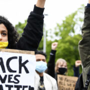 Protest march in the Netherlands (Image credits: EPA)