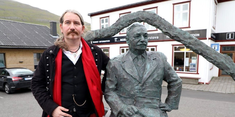 Niklas Nikolajsen is the great-grandson of famous businessman Kjølbro from Klaksvík (Image credits: Dávur Winther)