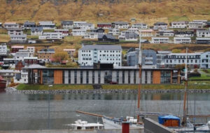 Heimið við Vágna, one of the many nurshing homes in the Faroe Islands (Image credits: Sverri Egholm)