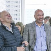 John Rajani on the right (Image credits: Jens Kr. Vang)