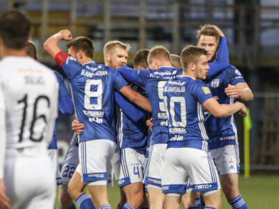 KÍ Klaksvík won 6-1 against Dinamo Tbilisi (Image credits: Sverri Egholm)